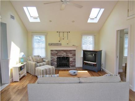 East Dennis Cape Cod vacation rental - Family Friendly Living Room