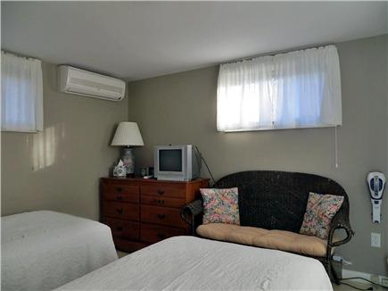 Orleans Cape Cod vacation rental - Another view of bedroom with AC and TV
