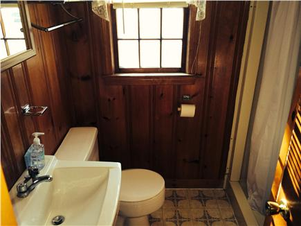 Dennisport Cape Cod vacation rental - The outside shower is great, too!!
