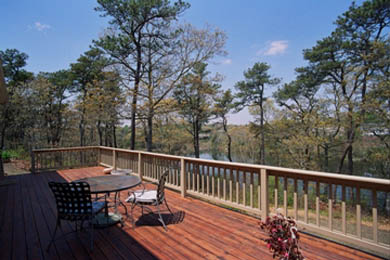 Chatham Cape Cod vacation rental - Deck with incredible water views