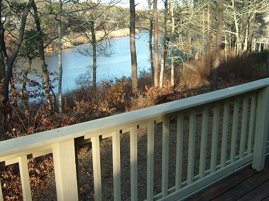 Chatham Cape Cod vacation rental - View from deck looking to the right