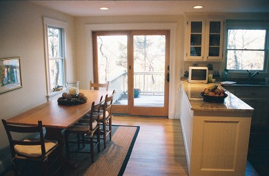 Chatham Cape Cod vacation rental - Kitchen walks out to the Deck