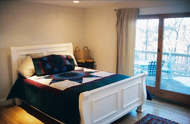 Chatham Cape Cod vacation rental - Bedroom with entrance to the Deck