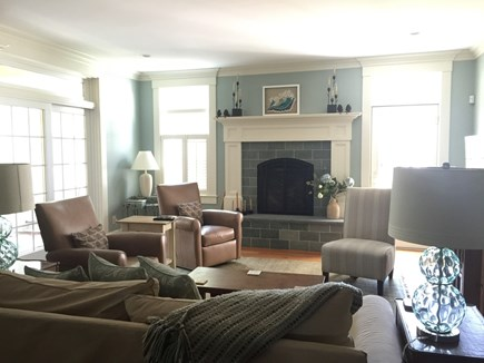 West Yarmouth Cape Cod vacation rental - Sit back and enjoy in front of the fireplace