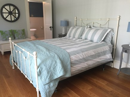 West Yarmouth Cape Cod vacation rental - 2nd floor bedroom with queen bed and large roof deck