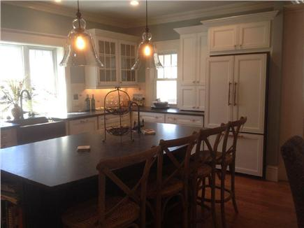 West Yarmouth Cape Cod vacation rental - Kitchen with large bar area