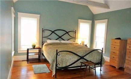 West Yarmouth Cape Cod vacation rental - 1st-floor master with king bed and attached bath
