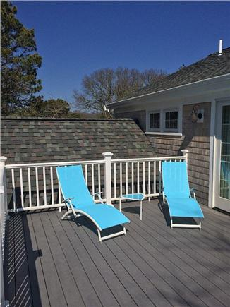 West Yarmouth Cape Cod vacation rental - Enjoy blue skies on the sunny 2nd floor deck