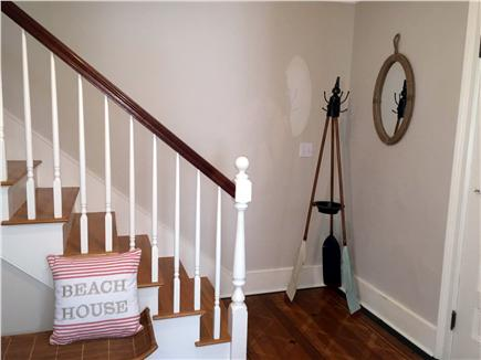 Yarmouthport Cape Cod vacation rental - Front hall entry