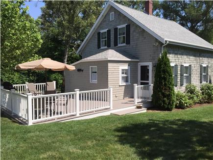 Yarmouthport Cape Cod vacation rental - New Trex-deck Patio with grill