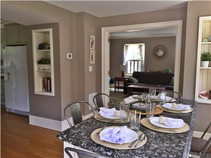 Yarmouth Port Cape Cod vacation rental - Dining area with granite top table