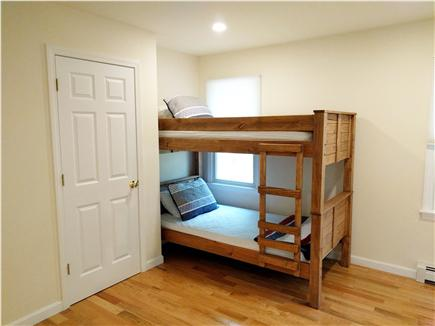 Eastham Cape Cod vacation rental - First floor bedroom with twin bunk beds