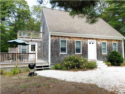 Eastham Cape Cod vacation rental - Home exterior with deck, master bedroom deck, and outdoor shower