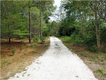 Eastham Cape Cod vacation rental - Seashell driveway to over an acre of secluded land