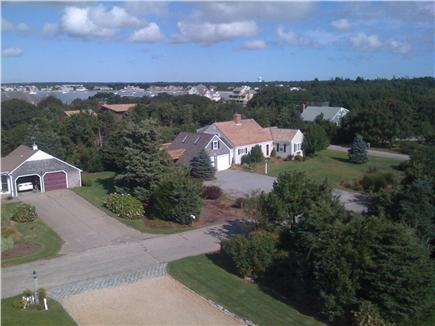 West Yarmouth Cape Cod vacation rental - House with Lewis Bay in the background