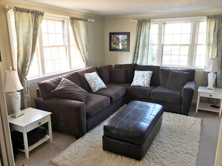 West Yarmouth Cape Cod vacation rental - Media room. Pull out memory foam Full size sleeper.