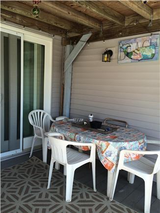 Wellfleet Cape Cod vacation rental - Outside deck