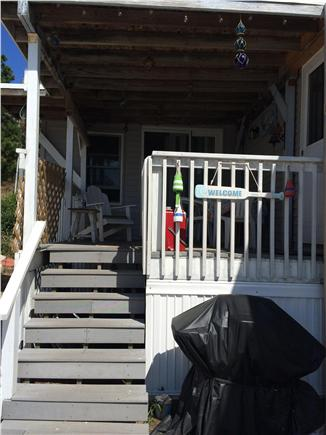Wellfleet Cape Cod vacation rental - Outside deck with waterview