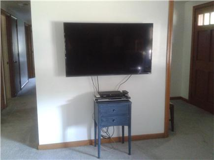 South Yarmouth Cape Cod vacation rental - Flat screen TV in living room