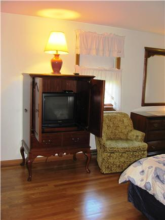 South Yarmouth Cape Cod vacation rental - TV in Master Bedroom