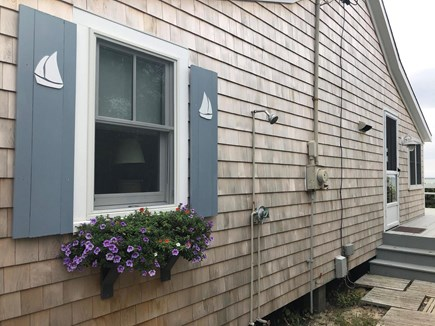East Brewster Cape Cod vacation rental - Outdoor shower