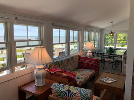 East Brewster Cape Cod vacation rental - Livingroom with magnificent views