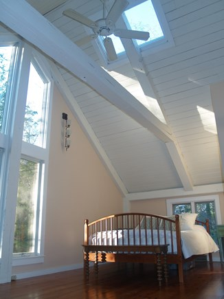 Orleans Cape Cod vacation rental - Beautiful Master Bedroom With Queen Bed With Cathedral Ceiling