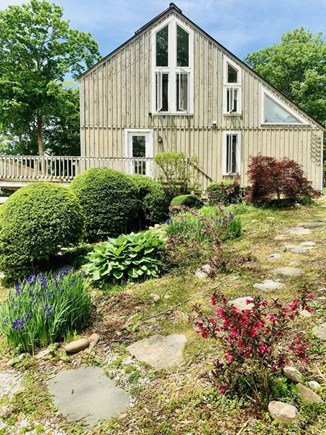 Orleans Cape Cod vacation rental - Front View With Landscaped Yard