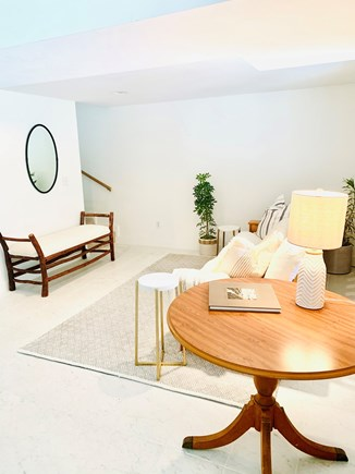 Orleans Cape Cod vacation rental - Full size couch - Downstairs