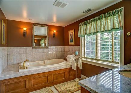 Barnstable Cape Cod vacation rental - Soak in a relaxing Jacuzzi tub in the master bath.