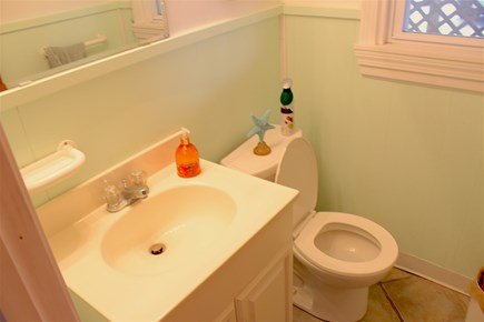 Yarmouth Cape Cod vacation rental - Downstairs Bathroom