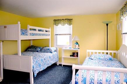 Yarmouth Cape Cod vacation rental - Bedroom Number two, bunk bed as well as a full bed