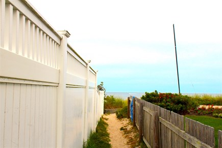 Yarmouth Cape Cod vacation rental - Path to beach