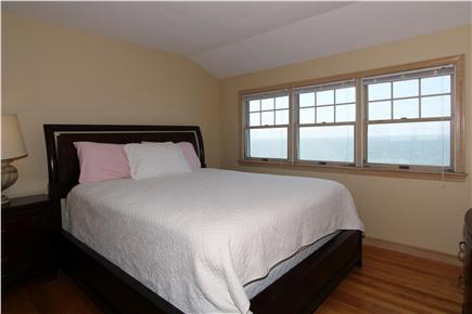 East Falmouth Cape Cod vacation rental - Second bedroom, with double bed and ocean view.