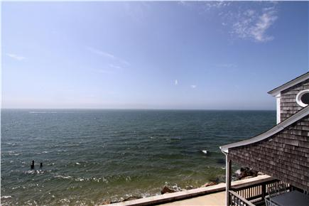 East Falmouth Cape Cod vacation rental - Spectacular ocean view from many common rooms and bedrooms.