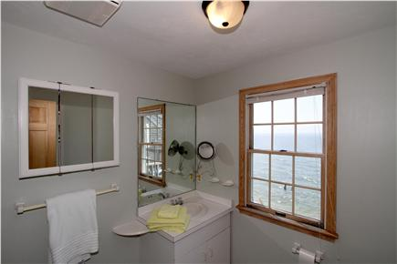 East Falmouth Cape Cod vacation rental - Even the bathrooms boast excellent views of the water -- this one