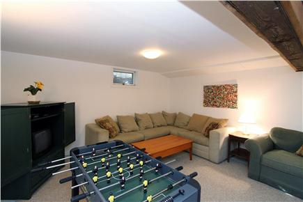Eastham Cape Cod vacation rental - Cheer your family members on from a wraparound sofa
