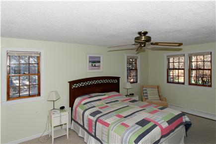 Eastham Cape Cod vacation rental - Relax surrounded by pale ocean hues in the master bedroom.