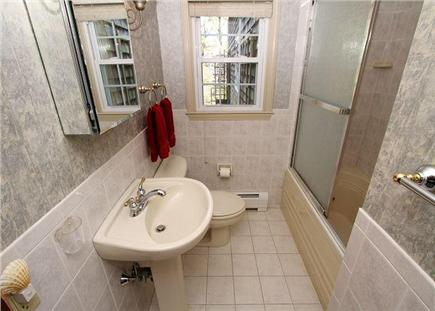 Chatham Cape Cod vacation rental - A second, spacious bathroom with a shower/tub combo.