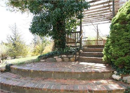 Chatham Cape Cod vacation rental - Artful brick steps lead up to a sunny deck.