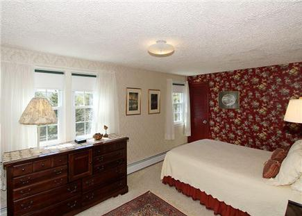 Chatham Cape Cod vacation rental - The master bedroom offers a queen-size bed and Victorian-inspired