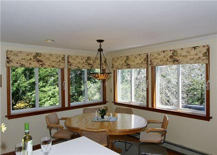 Chatham Cape Cod vacation rental - Filled with natural light from two walls of windows, the dining.