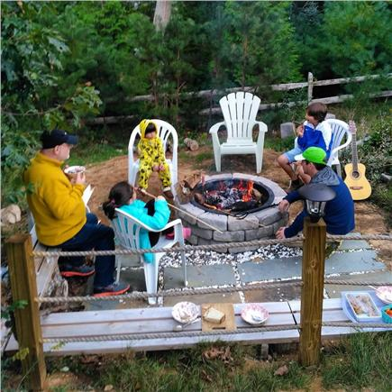 Eastham Cape Cod vacation rental - Fire Pit