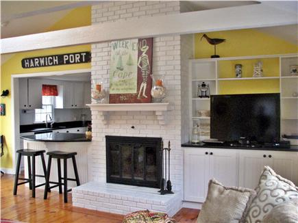 Harwichport Cape Cod vacation rental - Spacious family room perfect for gathering.