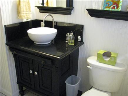 Harwichport Cape Cod vacation rental - First Floor bath with tub / shower