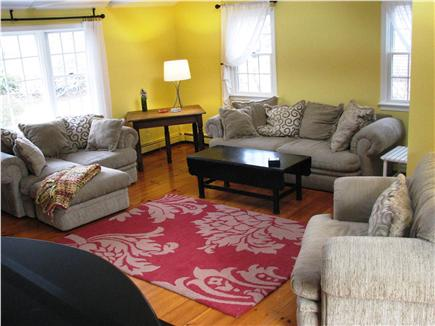 Harwichport Cape Cod vacation rental - Cozy sitting area in family room