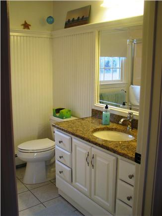 Harwichport Cape Cod vacation rental - Second Floor Bath with walk-in shower