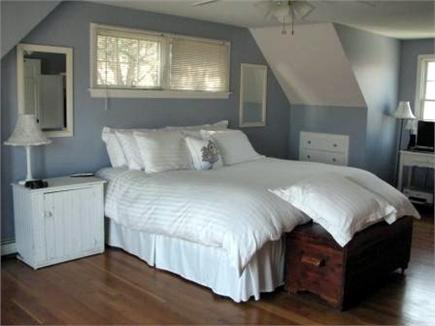 Harwichport Cape Cod vacation rental - Master bedroom retreat with slider to private balcony
