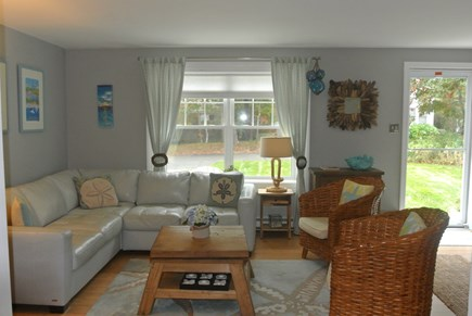 New Seabury, Popponesset New Seabury vacation rental - Living Area w/ LCD TV, DVD, Cable & WiFI