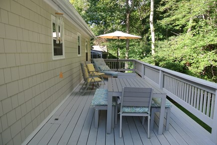 New Seabury, Popponesset New Seabury vacation rental - Deck w/ Gas Grill